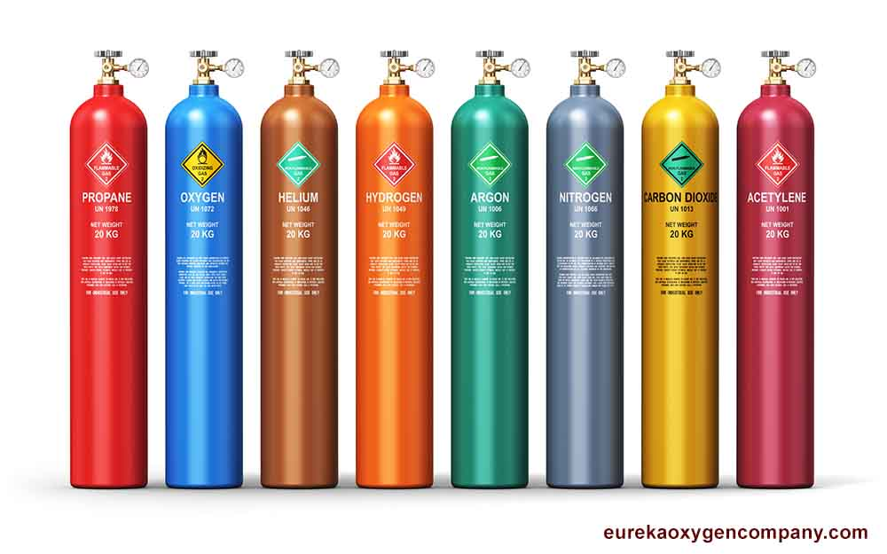 Safely Storing Compressed Gas Cylinders